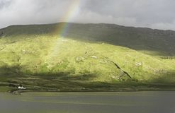 Um cenário rural dentro da ilha de Skye Fotos de Stock