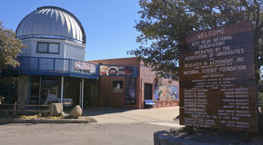 Um centro de Kitt Peak National Observatory Visitor Imagens de Stock