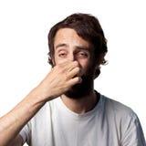 Um cheiro ruim Fotos de Stock Royalty Free