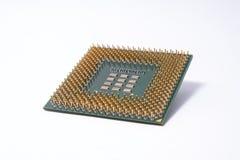 Um chip de computador Fotografia de Stock