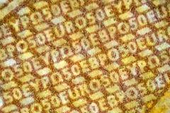 um close-up de 50 euro Imagens de Stock