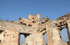Um close-up do Grande Muralha Imagem de Stock