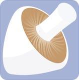 Um cogumelo quadrado Fotografia de Stock