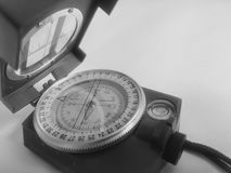 Um compasso do vintage fotografia de stock