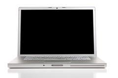 Um computador moderno de prata Fotos de Stock