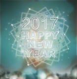 Um conceito de 2017 anos novos e de Natal Fotografia de Stock