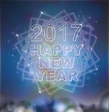 Um conceito de 2017 anos novos e de Natal Imagens de Stock