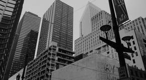 Um conjunto de construções Foto de Stock