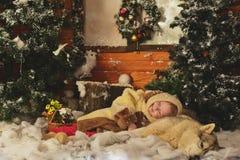 Um conto de fadas do Natal imagens de stock