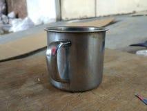 Um copo Imagem de Stock