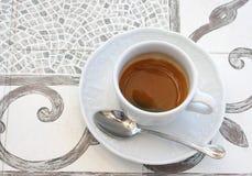 Um copo de café Fotografia de Stock Royalty Free