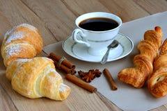 Um copo do café da manhã Fotos de Stock Royalty Free