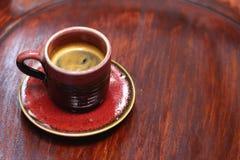 Um copo do café delicioso Fotografia de Stock Royalty Free