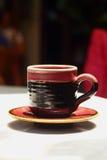 Um copo do café delicioso Foto de Stock