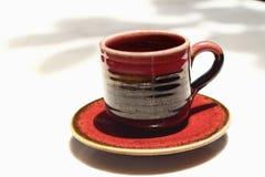 Um copo do café delicioso Imagens de Stock