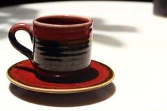 Um copo do café delicioso Fotografia de Stock