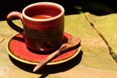 Um copo do café delicioso Fotos de Stock Royalty Free