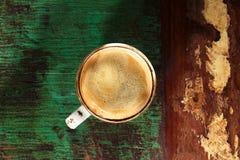 Um copo do café preto Fotos de Stock Royalty Free