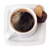 Um copo do café quente. Imagens de Stock