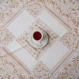 Um copo do chá fotografia de stock