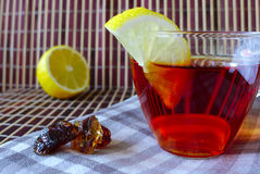 Um copo do chá Imagem de Stock