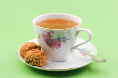 Um copo do chá. Foto de Stock Royalty Free