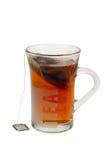 Um copo do chá quente foto de stock royalty free