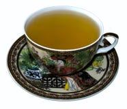 Um copo do chá verde Fotografia de Stock