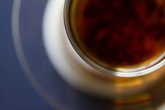 Um copo do chá Vista superior Foto de Stock