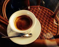 Um copo do coffe Foto de Stock