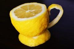 Um copo do limão Fotos de Stock