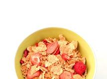 Um copo dos cereais Imagens de Stock