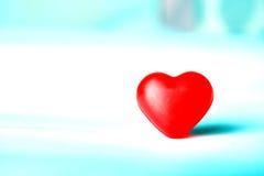 Um coração é caráter do amor Foto de Stock Royalty Free
