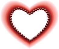 Um coração Imagens de Stock
