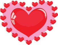 Um coração Fotografia de Stock