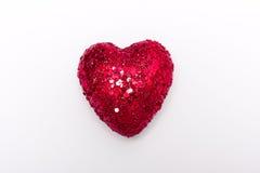 Um coração brilhante Fotografia de Stock Royalty Free