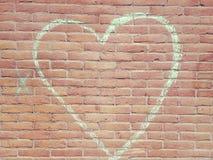 Um coração do amor Fotos de Stock Royalty Free