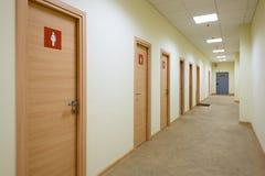 Um corredor longo Fotografia de Stock Royalty Free