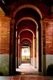 Um corredor velho Fotografia de Stock Royalty Free