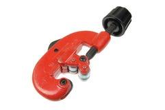 Um cortador de tubulação dos canalizador Imagem de Stock