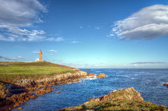 Um Coruña, torre de Hércules Imagens de Stock