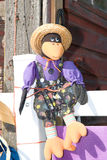 Um corvo de Holloween. Fotos de Stock Royalty Free