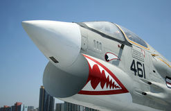 Um cruzado F-8 fotografia de stock royalty free