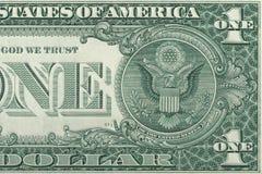 Um dólar Foto de Stock