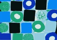 Um dargestellt und quadratische Bonbons Stockbild