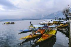 Um ` de Shikara do ` da chamada do barco é uma da atividade interessante deve ser tentativa pelo turista Fotos de Stock