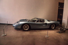 Um de somente 7 fez, estes 1967 Ford GT40 Mark III Fotos de Stock Royalty Free