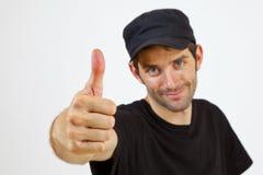 Um dedo Fotos de Stock Royalty Free