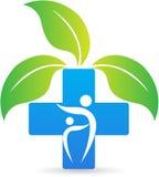 Cruz dos cuidados médicos ilustração royalty free