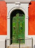 Um detalhe da arquitetura de uma rua, ilha de Panarea, Itália Fotografia de Stock Royalty Free